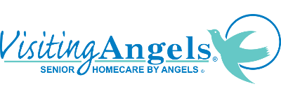 Visiting Angels: Homecare by Angels logo